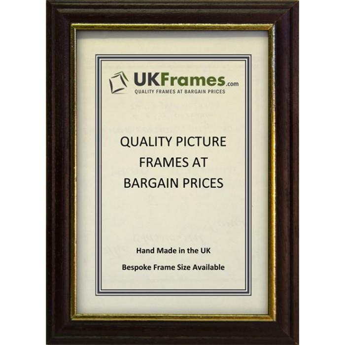 12mm Brown Wood Frames - UKFrames - Buy Picture Frames ...