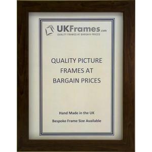 18mm Flat Brown Frames