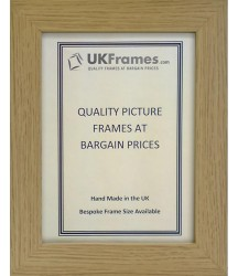 30mm Flat Oak Frames