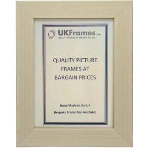 30mm Matt White Frames