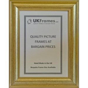 31mm Dome Gold Frames