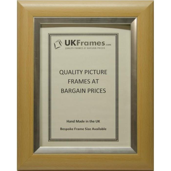 38mm Dome Beech Silver Frames : Modern Frames - UKFrames - Buy ...