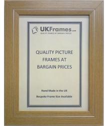 32mm Flat Beech Silver Frames