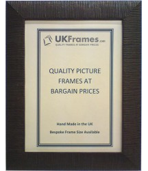 30mm Rib Brown Chocolate Frames