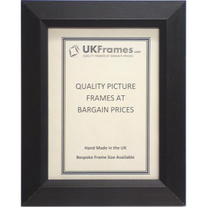 34mm Rooftop Black Wood Frames